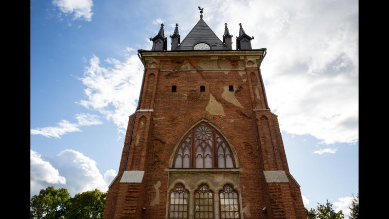 В Царском селе воссоздали одну из самых красивых построек неогитики - павильон Шапель