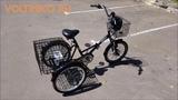 Электровелосипед Трехколесный Складной Doonkan Trike 500w Li-ion Обзор Voltreco.ru