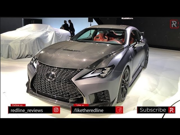2020 Lexus RC F Track Edition Redline First Look 2019 NAIAS