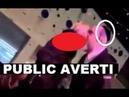 REGARDEZ Cet HAINEUX à Kippa Vomit sur une Femme Noire !! PUBLIC AVERTI