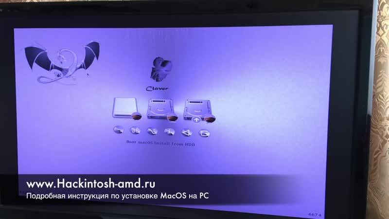[Aleksey Konovalov] Установка macOS Mojave 10.14 на intel PC Hackintosh Clover