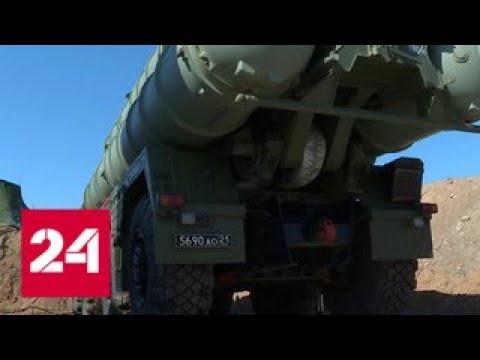 На защиту Крыма встал еще один дивизион Триумфов - Россия 24