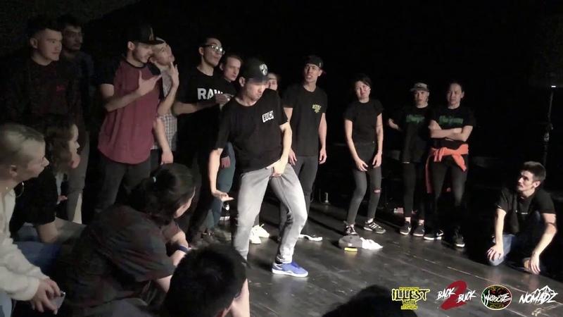 Blackdust vs Jr Revouker | Boyz 1/2 | Back 2 Buck: Illest Edition