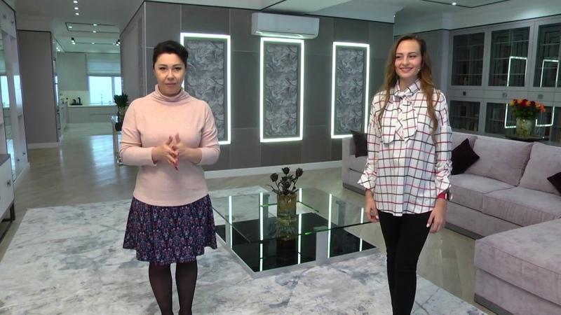 Дизайн и ремонт 2-х объединенных квартир Евгения Бабец