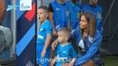 Кристина и Артем Дзюба с сынишками