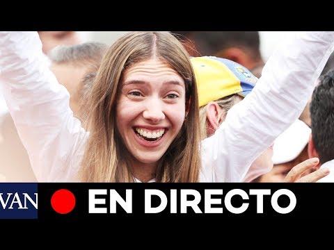 [EN DIRECTO] Discurso de Fabiana Rosales, esposa de Guaidó, en la Universidad Autónoma de Chile