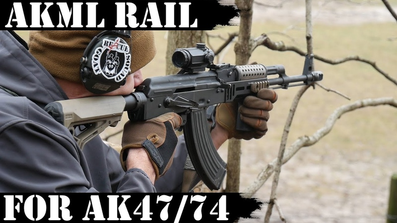 AKML M-lok Rail for AK47/74 from TDI