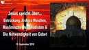 ENTRÜCKUNG AL AQSA MOSCHEE DSCHIHADISTEN NOTWENDIGKEIT VON GEBET ❤️ Liebesbrief von Jesus