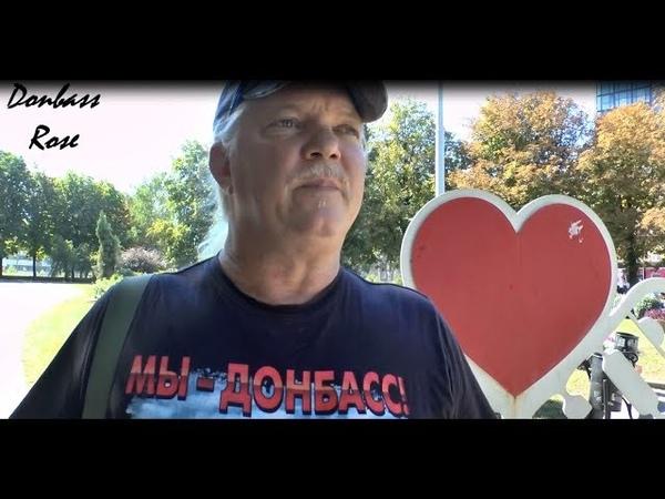 Russell Bentley AKA Texas: Now I am a citizen of DPR!/Расселл Бентли: Теперь я - гражданин ДНР!