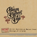 The Allman Brothers Band альбом Raleigh, Nc 8-10-03