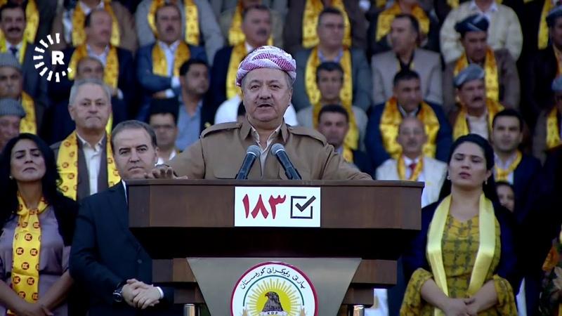 Serok Barzanî: Serweta min piştevaniya 48 milyon Kurd e