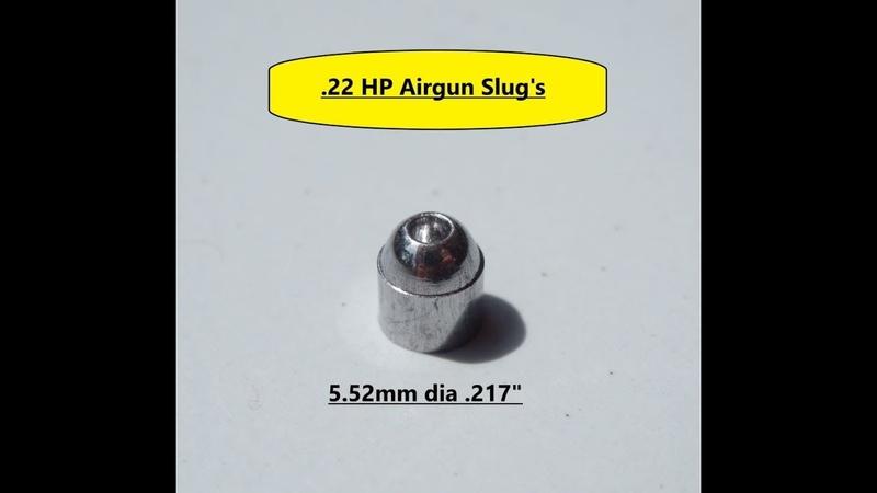 DIY hollow point slugs.