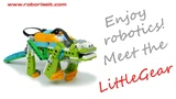 Meet the LittleGear! WeDo 2.0 robot