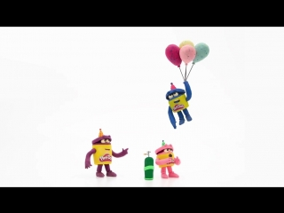'Balloon Birthday' 🎈 Stop Motion Ep.15 - The Play-Doh Show