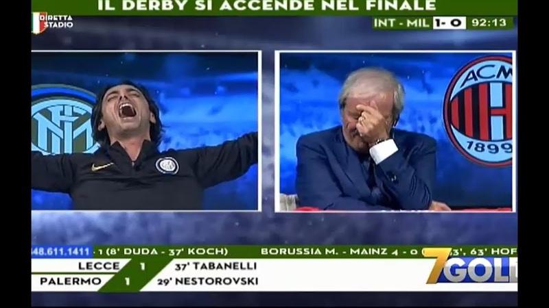 INFARTO TRAMONTANA AL 93', CRUDELI DISPERATO ●Inter-Milan 1-0● 21/10/18
