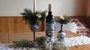 Jana Melas Pullmannová Vianočné poháre a svietniky