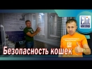 Безопасность Кошек Сетка Антикошка Кошачий Балкон ЭлитБалкон
