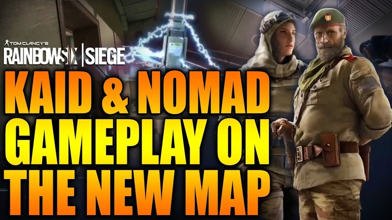 [Норка Орка] Rainbow Six Siege - In Depth KAID AND NOMAD GAMEPLAY ON THE NEW MAP