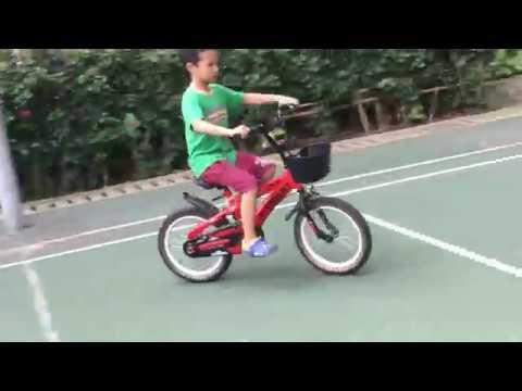An brothers tv - Hành trình 5 ngày tập xe đạp của An bé