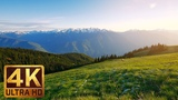 Nature Relaxation Footage in 4KScenic Natural Views of MOUNTAINS - 7