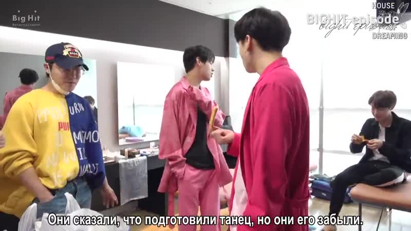 [рус.саб] [EPISODE] It's Snack Time of Big Hit @190427 Show Music Core - TXT(Tomorrow x Together)
