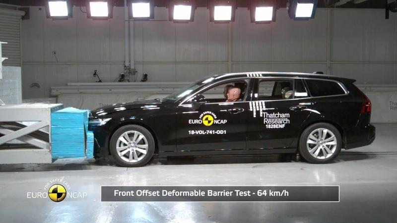 Euro NCAP Crash Test of Volvo V60