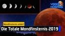 Die Totale Mondfinsternis am 21 Januar 2019 Das Warum Wann Wo und Wie Blutmond Yggis Kosmos