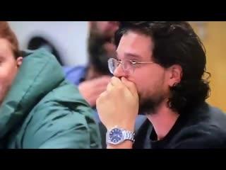 Реакция харрингтона при первом прочтении сценария на финальную сцену с дейнерис