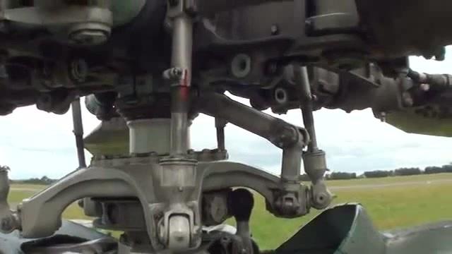 Автомат перекоса Ми-24 coub