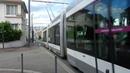Le tramway de Nancy , bi-mode guidé et non guidé