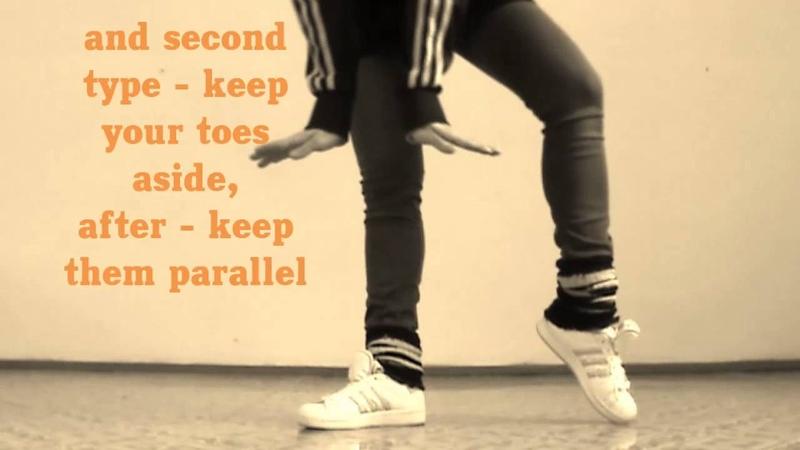 Профи обучение танцам от EHABY! Шаг Clap Slide.