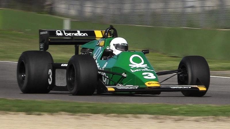 FIA Masters Historic F1 2018 Imola: 15 Minutes of Pure Cosworth 3.0 DFV V8 Sounds!