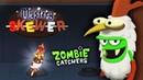ОХОТА на ЗОМБИ ШАШЛЫК из ТОЛСТЯЧКОВ Мультяшная игра для детей ЛОВЦЫ ЗОМБИ Zombie Catchers
