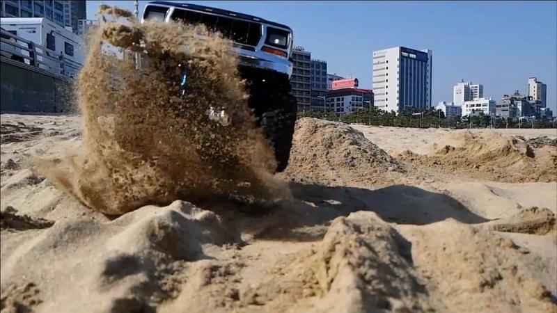 Traxxas TRX4 Ford Bronco Song-jung Beach Bashing 2