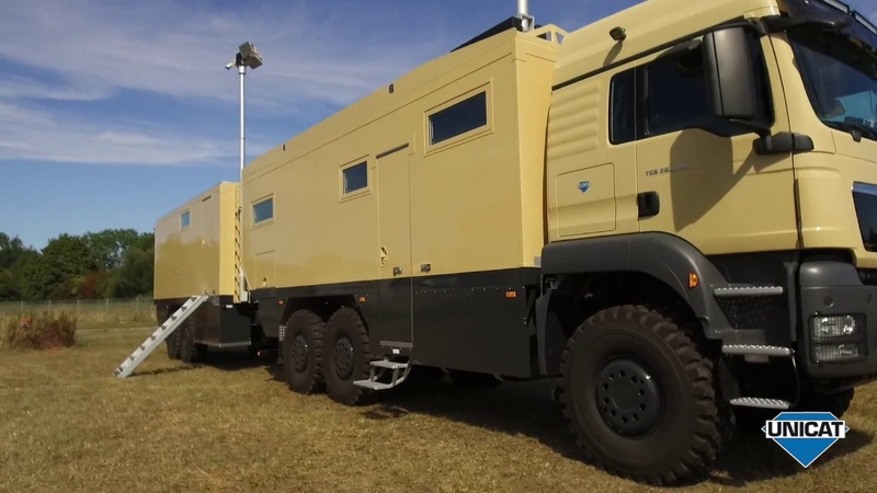 UNICAT Expedition Vehicles MD75HMBWT69 - MAN TGS 26.540 6X6