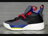 Распаковка Nike Air Jordan 33 Tech Pack Black Black-Dark Smoke Grey-Sail RESTOKK