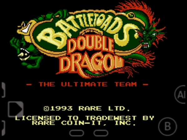 BATTLETOADS - DOUBLE DRAGON боевые жабы и братья драконы со спецэффектами