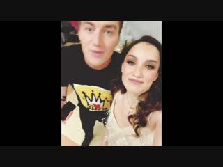 Алексей Воробьев и Виктория Дайнеко поздравляют с Новым годом