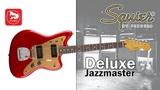 Винтажная электрогитара FENDER Squier Deluxe Jazzmaster