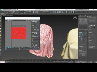 Modeling and Morphing the Knitted Cover in 3ds Max and Marvelous Designer