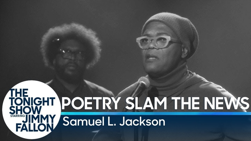 Poetry Slam the News with Samuel L. Jackson