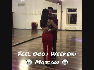 Emrâh and Diana at Feel Good Kizomba Weekend Moscow 19-21 October 2018