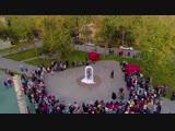 День рождения микрорайона Стрижи. Открытие скульптуры Данко