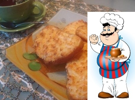 хрустящие тартинки популярные ингредиенты: -батон нарезной -3 плавленных сырка -2 варёных яйца -луковицу -майонез -красный перец (по желанию) приготовление: яйца и сырки натрите на крупной