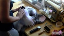 Building a toony husky fursuit head on a 3D mask 11 Sewing and trimming