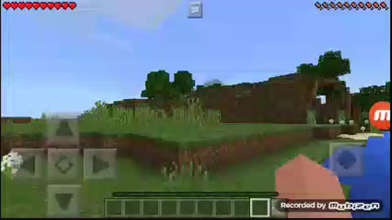 Minecraft Poket Edition. Часть 1:Строю дом