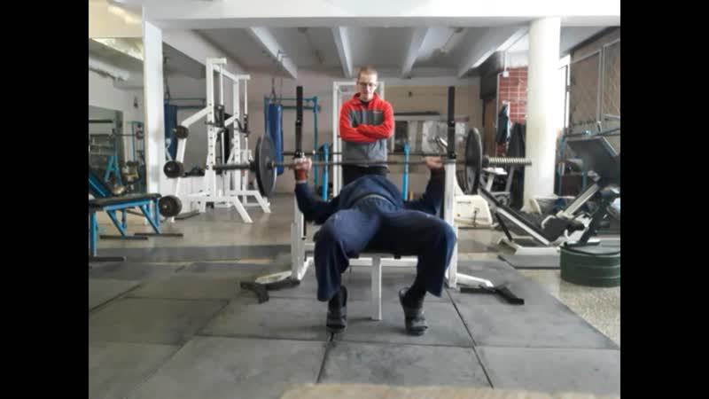 КРЖ 55 кг на 100 раз КА 52 38 КМС КА 48 Собств вес 105 кг