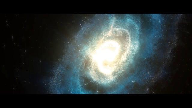 Flying through the galaxy