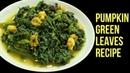 Pumpkin Green Leaves Recipe Pumpkin Leaves With Shrimp Kumro Shak Chingri Nian's Cooking Diary