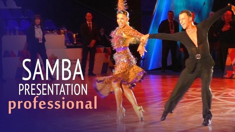 Samba Presentation = Professional Latin = 2019 Russian Championship